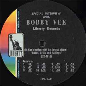 Bobby Vee - Special Interview With Bobby Vee Album