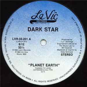 Dark Star - Planet Earth Album